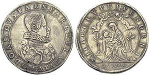 PARMA - Odoardo Farnese (1622-1646) - Doppio ...