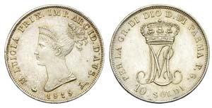 PARMA - Maria Luigia (1815-1847) - 10 Soldi ...