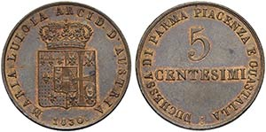 PARMA - Maria Luigia (1815-1847) - 5 ...