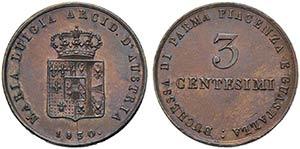 PARMA - Maria Luigia (1815-1847) - 3 ...
