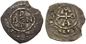 ROMA - Benedetto V con Ottone I (936-973) - ...