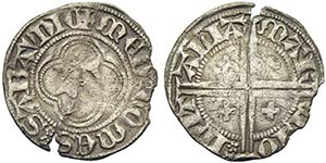 Amedeo VII (1383-1391) - Mezzo grosso - ...