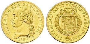 Vittorio Emanuele I (1802-1821) - 20 Lire - ...