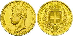 Carlo Alberto (1831-1849) - 100 Lire - 1833 ...