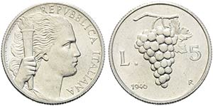 Repubblica Italiana (emissioni in lire) ...