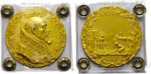 PAPALI - Urbano VIII (1623-1644) - Medaglia ...