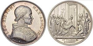PAPALI - Leone XII (1823-1829) - Medaglia - ...