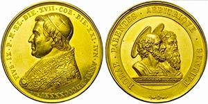 PAPALI - Pio IX (1846-1866) - Medaglia - ...