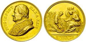 PAPALI - Pio IX (1866-1878) - Medaglia - A. ...
