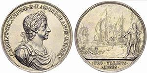 GRAN BRETAGNA - Carlo II (1660-1685) - ...