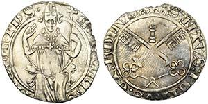 AVIGNONE - Martino V (1417-1431) - Carlino - ...