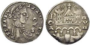 BERGAMO - Comune, monete a nome di Federico ...