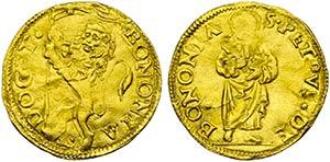 BOLOGNA - Sede Vacante (1521-1522) - Ducato ...