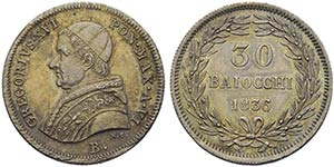 BOLOGNA - Gregorio XVI (1831-1846) - 30 ...