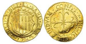 CAGLIARI - Filippo V di Borbone (1700-1707) ...