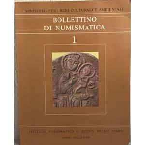 Bollettino di Numismatica. N. 1. Roma, 1983. ...