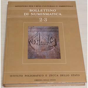 Bollettino di Numismatica 2-3 – Anno 1984. ...