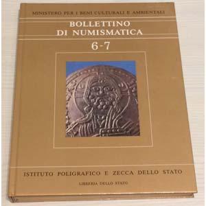 Bollettino di Numismatica 6-7 – Anno 1986. ...