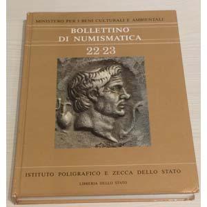 Bollettino di Numismatica 22-23 Palermo ...