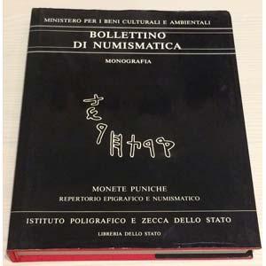 Bollettino di Numismatica , Monete Puniche ...