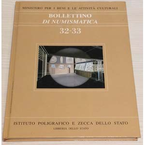 Bollettino di Numismatica 32-33 – Anno ...