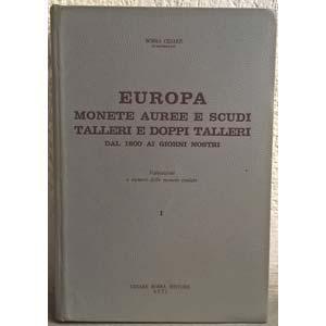 BOBBA C. – Europa. Monete auree e scudi, ...