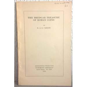 CARSON R. A. G. – The Bredgar treasure of ...