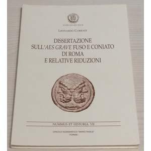 CORRADI L., Dissertazione sull'Aes Grave ...