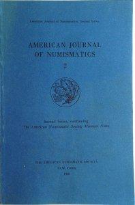 AA. VV. – American journal of numismatics. ...