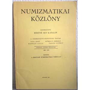 AA. VV. - NUMIZMATIKAI KOZLONY. Szerkeszti ...