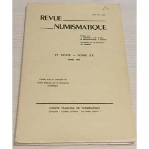 AA. VV. – Revue Numismatique. VI serie- ...
