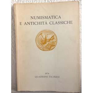 AA. VV. – Quaderni ticinesi. Numismatica e ...