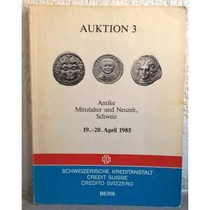 CREDIT SUISSE – Bern, 19-20 april 1985. ...