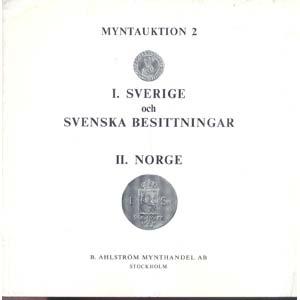 AHLSTROM B. MYNTHANDEL AB. - Auktion 2. ...