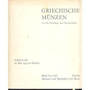 BANK LEU AG- MUNZEN und MEDAILLEN AG. Zurigo ...