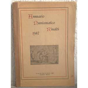 AA. VV. – Annuario numismatico Rinaldi. ...