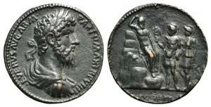 Paduan Medals, Lucius Verus (161-169). Cast ...