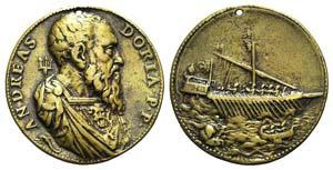 Andrea Doria (1466-1560, Genoan admiral). ...