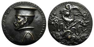 Ser Ristoro di Iacopo de Priori. Æ Medal ...