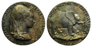 Isotta degli Atti (1432/3-1474), wife in ...