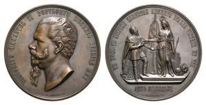 Italy, Vittorio Emanuele II (1861-1878). Æ ...