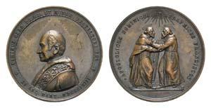 Papal, Leone XIII (1878-1903). Æ Medal 1893 ...