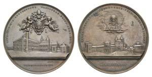 Papal, Pio XI (1922-1939). Æ Medal 1924 ...