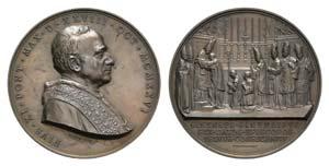 Papal, Pio XI (1922-1939). Æ Medal 1926 ...