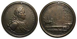 France, Leopold I (1679-1729). Æ Medal ...