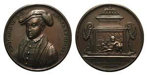 Great Britain, Eduard VI (1547-1553). Æ ...