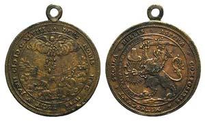 Lowlands, Æ Medal 1648 (49mm). ...