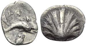 Southern Apulia, Tarentum, c. 320-315 BC. AR ...