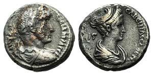 Hadrian and Sabina (117-138). Egypt, ...