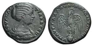 Plautilla (Augusta, 202-205). Moesia, ...